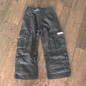 Janie and Jack Toddler Boy's Convertible Pants
